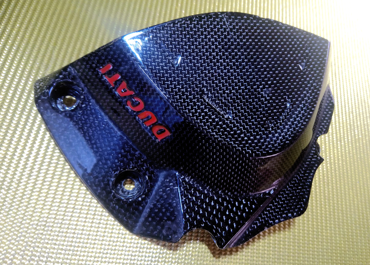 carbon chain sprocket cover