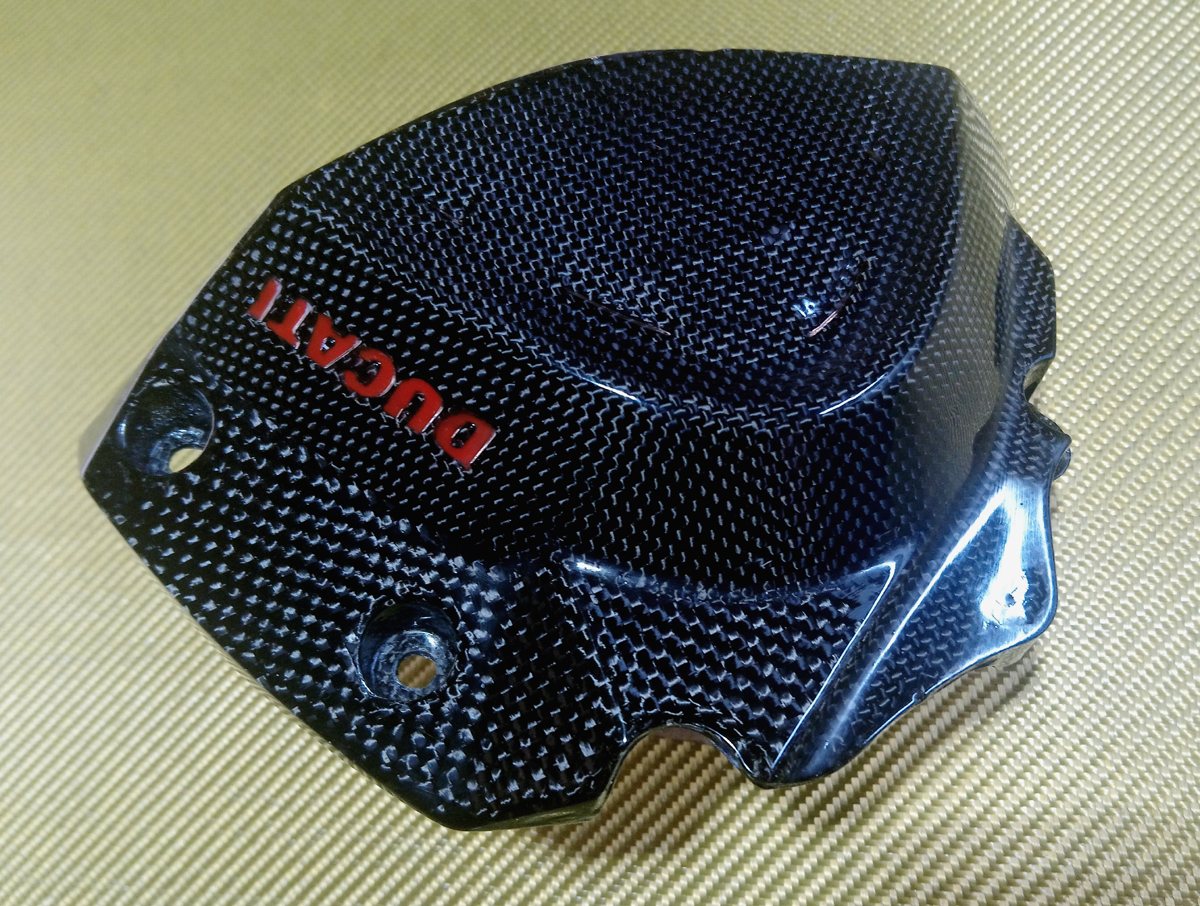 chain pignon cover racing carbon