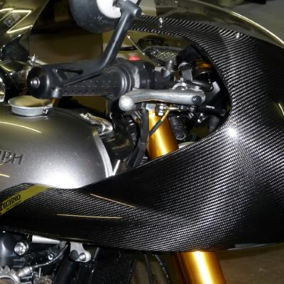 Fairing Racing  carbone Triumph Thruxton 1200