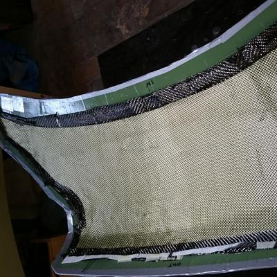 couche interne d'aramide / inner layer of aramid