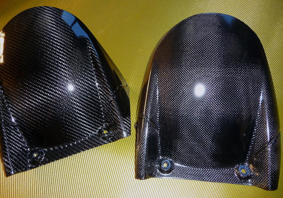Lèche roue arrière Carbone RSV 4 / Tuono V4