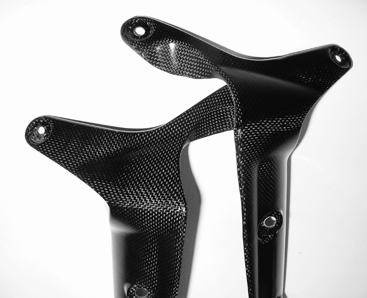 Front fender support Carbon
