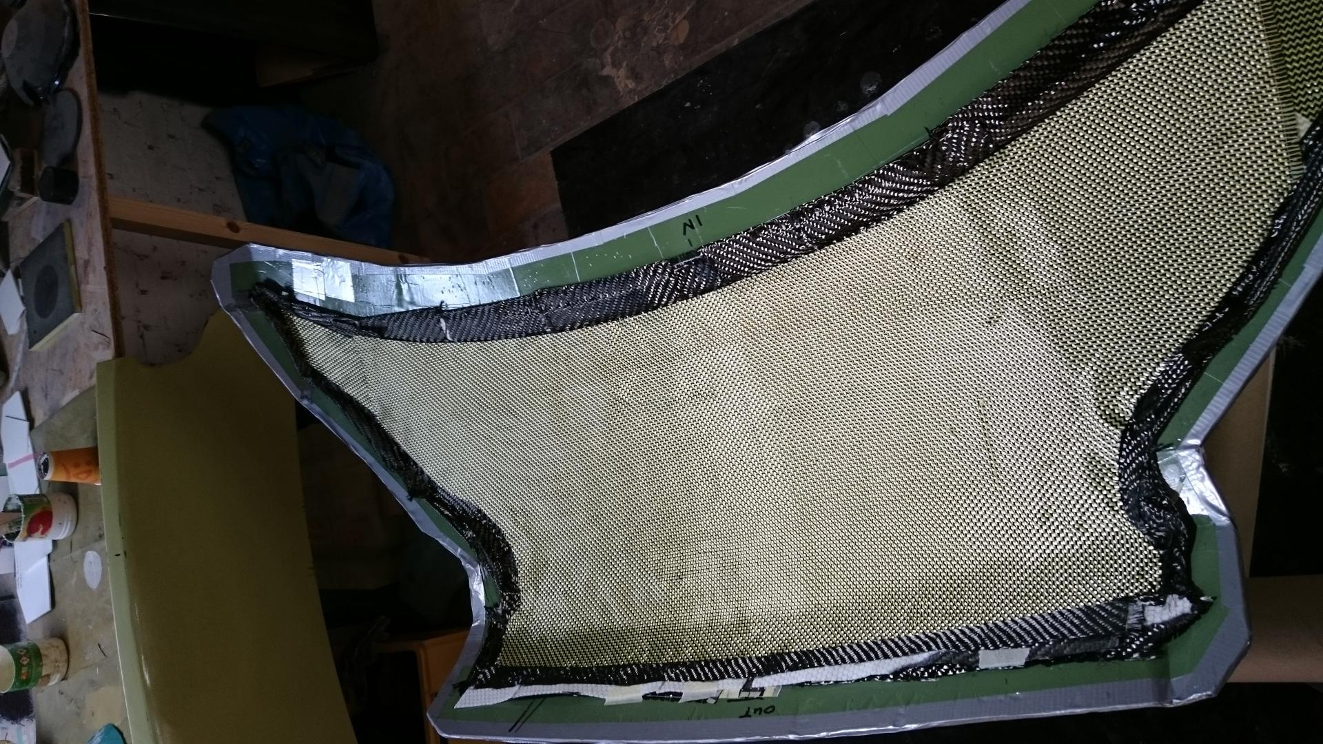 Cover internal view reinforcing aramid (kevlar)